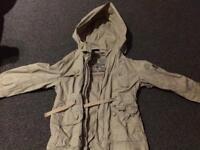 Khaki jacket from Next