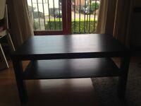 Lack coffee table | black-brown (Ikea)