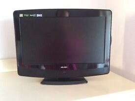 "EXCELLENT CONDITION BUSH 19"" HD Ready LCD TV built in DVD and freeview. Unused.Scartlead&remote inc"