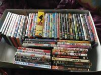 Job lot of dvds (55)