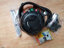 henry hoover Vacuum Cleaner 2 speed new 3 Metre Hose new Brushes new Rods Tool Kit