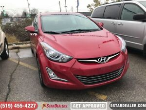 2015 Hyundai Elantra Limited | LEATHER | NAV | ROOF
