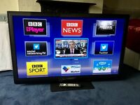 PANASONIC 50 INCH FULL HD 1080P 3D SMART PLASMA TV WITH FREEVIEW HD BUILT IN.