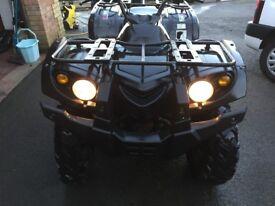 Quad Bike Farr 500cc ATV , 2013 model , ONLY 800 MILES , runs & drives perfectly, not yamaha, honda