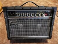 guitar amplifier Amp Roland JC-22 Jazz chorus excellent condition will take a PX if it helps