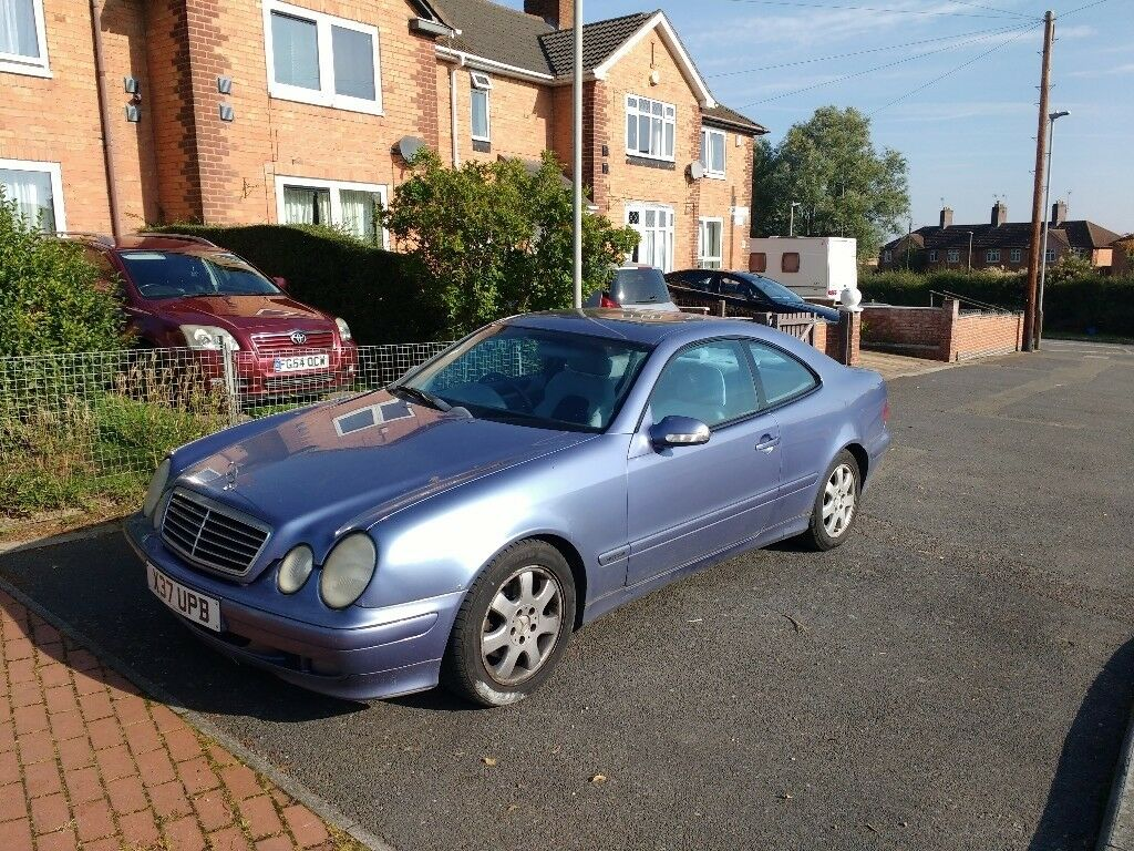 mercedes clk 230 kompressor avantgarde coupe 2000 year in leicester leicestershire gumtree. Black Bedroom Furniture Sets. Home Design Ideas