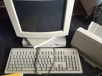 Apple Mac Performa 475 and printer
