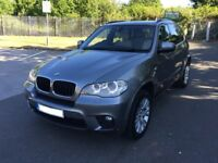 BMW X5 E70 30D M SPORT 2013, LCI FACELIFT, SPACE GREY, 8 SPEED GEAR, x6
