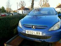 Breaking for parts Peugeot 307hdi 2.0d from 2002