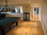 Will install hardwood,laminate or engineered floors