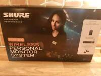 Shure PSM200 wireless monitor system
