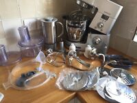 Kenwood cooking chef km070 food processor blender mixer induction hob