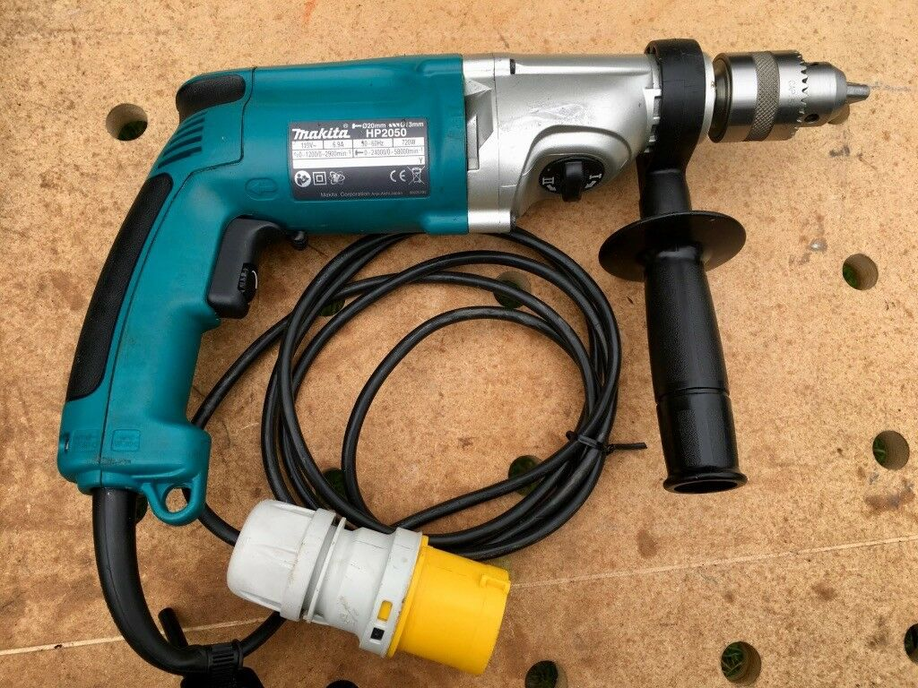 Makita HP2050F 110v 13mm 2 Speed Percussion Drill