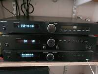 Tibo 410 sound system hifi (bluetooth amp, cd player, dab radio) and speakers