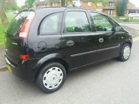 Vauxhall meriva 1.6 1years mot 04