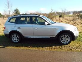2008 BMW X3 SE 2.0 diesel Automatic 2 lady owners +Main dealer. Full Service Hist. Good mileage