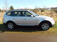 2008 BMW X3 SE 2.0 Diesel Automatic . Full Service Hist. Good mileage,New Tyres fitted recently