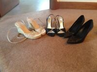 Ladies Shoes and Boots - size 39 (6), good condition