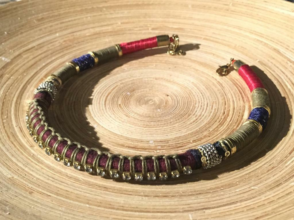 United Colors of Benneton Chokerin LondonGumtree - Brand new, free size choker. Shipping available within England for extra £3. Collection available at Vauxhall/Victoria/ Pimlico/ Stockwell/ Brixton stations