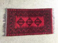Small wool carpet