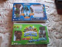 SKYLANDERS SPYROS ADVENTURE & SKYLANDERS SWAP FORCE WII