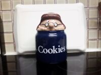 TETLEY COOKIE JAR SOUGHT AFTER BY COLECTERS