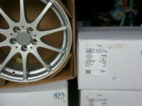 "RRP £720 DEZENT 17"" inch Alloy wheels 5 x 100 AUDI A1 A2 A3 S1 S2 S3 TT Chrysler neon alloys wheel"