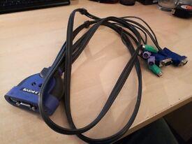 Linksys Integrated KVM 2-Port Switch