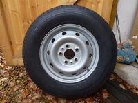 FIAT Ducato Motor home spare wheel/tyre