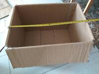Free cardboard boxes (x20)