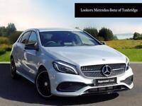 Mercedes-Benz A Class A 160 AMG LINE PREMIUM (silver) 2017-03-16