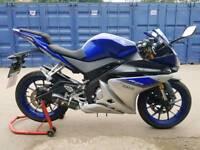 Yamaha yzf r125 2016