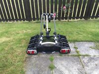 Land Rover Tow Bar Bike Rack (3 Bikes) can be used with any vehicle with tow bar.