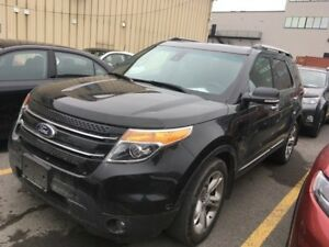 2015 Ford Explorer Limited, AWD, NAV, CUIR, TOIT