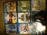 Movies films and TV seasons on bluray