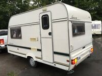 ☆ LUNAR ARRIVA 1998 2 BERTH ☆ TOURING CARAVAN ☆ IMMACULATE CONDITION 4 AGE ☆ ☆ NARROW 6ft 6 WIDE ☆