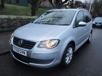 Volkswagen Touran 1.9 TDI Match-Full Service History-Finance Available-P/EX-TOP SPEC MATCH MODEL