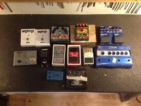 Guitar Pedal Projects! Boss, MXR, Ibanez, Orange, Line 6, Fishman