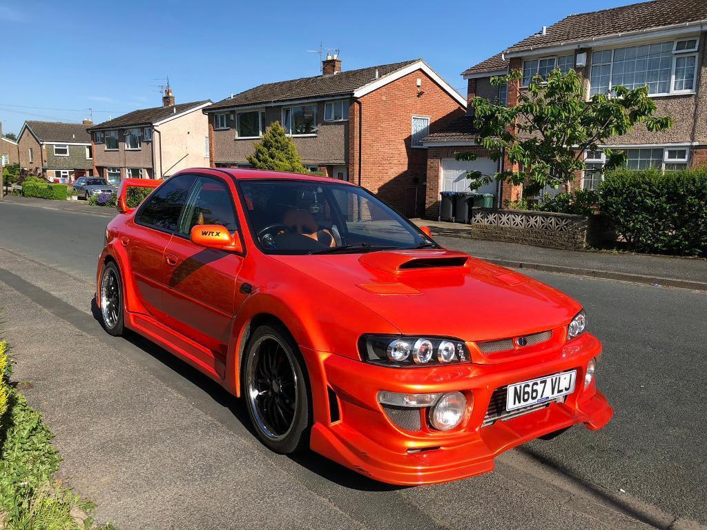 Subaru Impreza WRX 20 Turbo 95 Reg