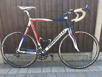 Large Pinarello FP1 British Sky Colours. Good condition. Bike mens tall