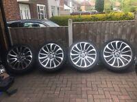 """22"""" alloy wheels"""