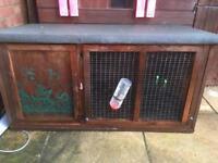 Rabbit hutch £20