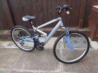 FEMALE MOUNTAIN BIKE - AS NEW - 26 INCH WHEELS (LISTED TIL SOLD)