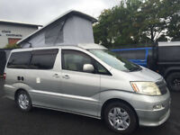 TOYOTA ALPHARD MOTORHOME CAMPER VAN STUNNING CONDITION, YOU WILL NOT BE DISAPPOINTED, PLEASE CALL