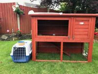 Single rabbit hutch