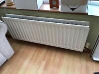 Free double radiator