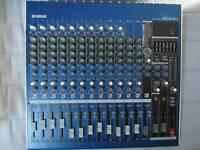 Yamaha mg fx 16 mixing desk