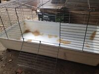 Rabbit / Guinea Pig Indoor Hutch Cage - Extra large