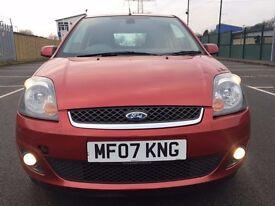 2007 Ford Fiesta 1.25 Zetec 3 door - 11 MONTHS MOT * ALLOYS * A/C * PX WELCOME *