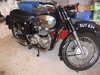 1957 AJS 600 TWIN MODEL 30